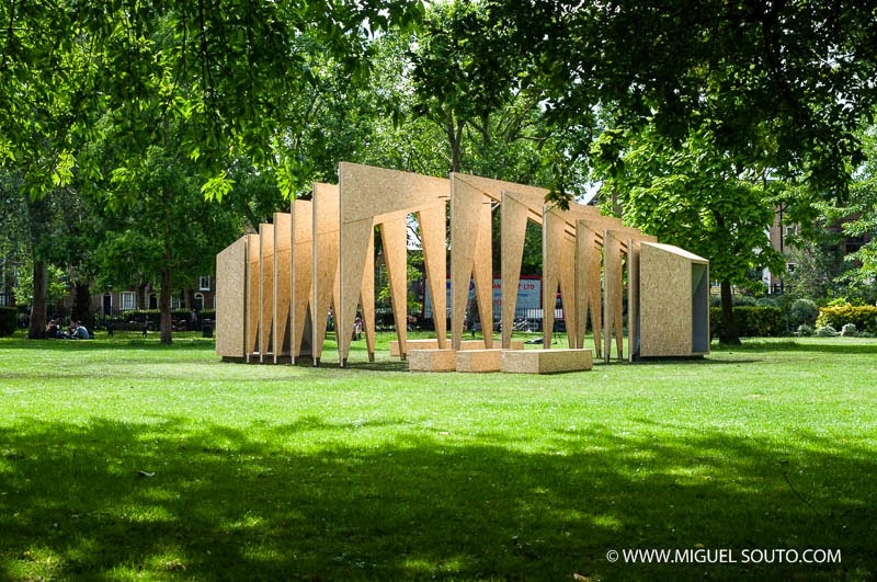 Triumph Pavilion 2014. London_Great Britain | IPT Architects