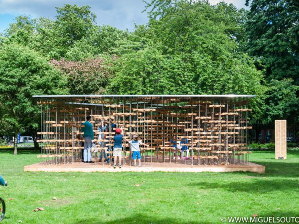 Pinwheel Pavilion by Five Line Projects | London – 2016